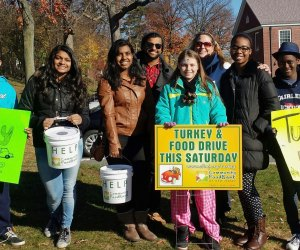The Community Food Bank of New Jersey hosts an annual Turkey Drive to collect holiday meals for local families. Photo courtesy of Community Food Bank of NJ.