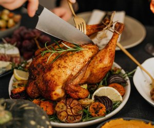 Enjoy a Thanksgiving turkey prepared by a chef. Photo by Karolina Grabowska/ Pexels