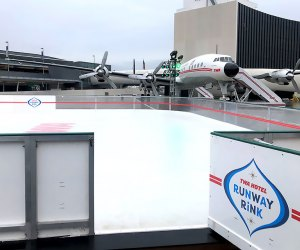 The new Runway Rink at JFK might make being at the airport actually...fun?