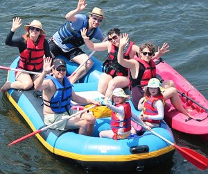 Take a relaxing float along the Middle Delaware River with Twin Rivers Tubing.