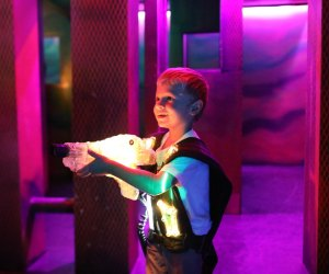 Laser tag is perfect for birthday parties or just a fun family afternoon. Photo courtesy of Ultrazone Laser Tag