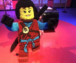 The NINJAGO space at LEGOLAND, photo by the author