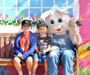 Meet the big bunny and all the little farm bunnies, too. Photo courtesy of Underwood Family Farms