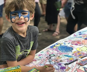 Kids' activities abound at It's My Park Day at Union Square Park.  Photo by Liz Ligon