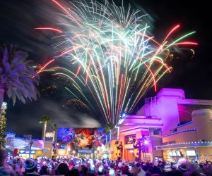 Universal Studios Hollywood celebrates New Year's Eve with a huge celebration. Photo by Michael Owen Baker/Universal Studios Hollywood