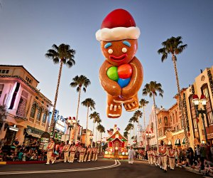 Celebrate the season at Universal's Holiday Parade. Photo by Eric Dean courtesy of Universal Orlando