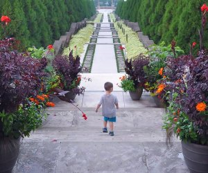Thanks to its history as a tony estate, Untermyer Gardens is a grand urban oasis worth exploring. Photo courtesy of the Garden