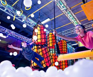 Kids can climb, bounce, and reach for the stars at Urban Air. Photo courtesy of Urban Air Trampoline Park, Orange