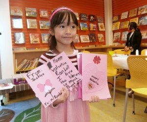Make Valentines at the library. Photo courtesy of San Jose Public Library/Flickr