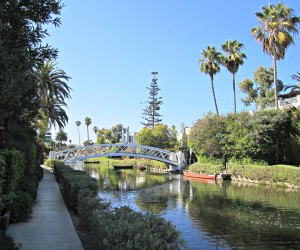 FREE Things Kids Can Do in LA: Stroll the canals in Venice