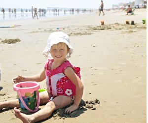 Virginia Beach offers a sandy shoreline and more activities for kids.