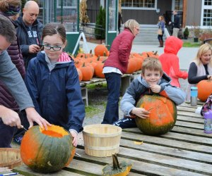 Pumpkinfest in Needham, MA benefits Boston Children's Hospital. Photo courtesy of Volante Farms