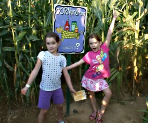 The corn maze at Von Thun's Country Farm in New Jersey is a short drive from NYC.
