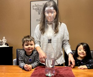 Create a water vortex for a simple experiment with exciting results!