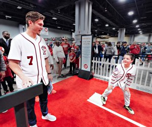 Enjoy a day with the World Series champion Nationals at their Winterfest. Photo courtesy of the Washington Nationals