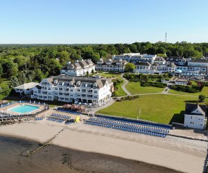 The Water's Edge Resort and Spa in Connecticut offers the beach and so much more. Photo courtesy the resort