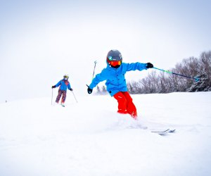 Waterville Valley is introducing a new parent-child learn-to-ski program. Photo courtesy of Waterville Valley