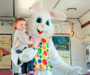 Celebrate the arrival of Easter and  spring aboard the West Chester Railroad. Photo courtesy of the railroad