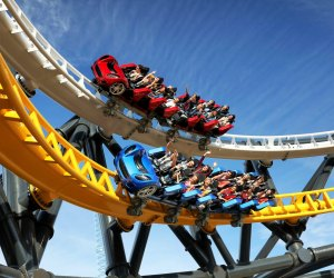 West Coast Racers is one wild ride. Photo courtesy of Six Flags Magic Mountain