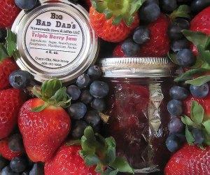 Strawberries and jam