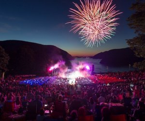 Celebrate the 4th of July at West Point with the Army's oldest band. Photo courtesy of West Point