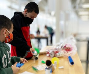 The Westchester Children's Museum continues its popular Weekend Workshops. Photo courtesy of the museum