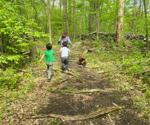 Little ones love to stretch their legs on the trails and explore nature all around. Photo by Sara M.