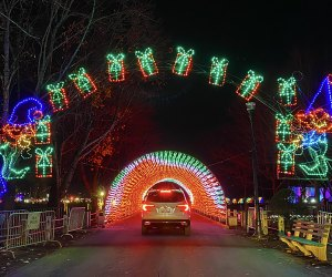 Westchester's Winter Wonderland is a festive 1.2-mile drive through Kensico Dam Plaza.