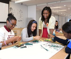 Take an art class at Open Studio for Teens at the Whitney. Photo by Filip Wolak for the museum