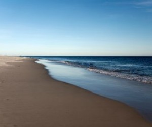Quiet Beach At Robert Moses State Park