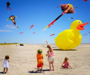 See the stunning show when the Wildwoods International Kite Festival, the largest display in North America, takes the skies Memorial Day weekend