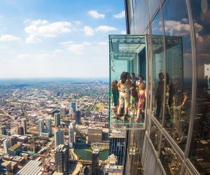 The Skydeck at Willis Tower has spectacular views spanning four states.
