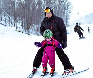 Hop on a bus to Windham Mountain for a family-friendly ski day. Photo courtesy of Windham