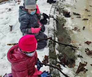 Embrace the chill and explore the great outdoors with the help of the staff at Tenafly Nature Center. Photo courtesy of the center