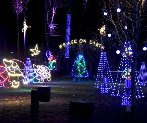 The Westchester Parks Foundation again presents the popular Winter Wonderland at Kenisco Dam Plaza.