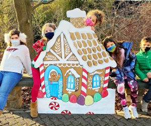 Make like Hansel and Gretel and go on the Winter Wonderland Walk at the Beardsley Zoo. Photo by Ally Noel