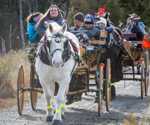 Enjoy lots of FREE fun at the Annual Winter Solstice Celebration on Saturday at Cattus Island County Park. Photo courtesy of the park