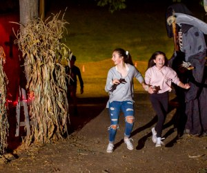 Witch's Woods is open for haunted outdoor fun. Photo courtesy of Nashoba Valley Ski Area