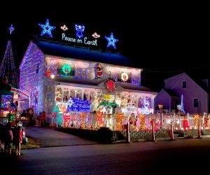 Christmas light displays Wonderland at Roseville