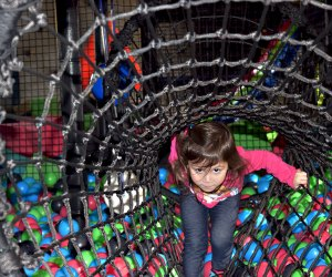 Hit the ball pit at Xtreme Energy the next time rainy day skies ruin your outdoor fun. Photo by Kaylynn Ebner