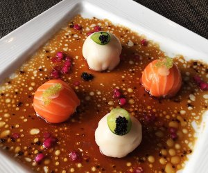 Enjoy dim sum at Yamoto, a family-friendly restaurant in Park Slope