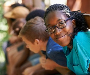 The Y  Camps provide the perfect environment for campers to make new friends, explore the world around them, and develop decision-making and character-building. Photo courtesy of the YMCA