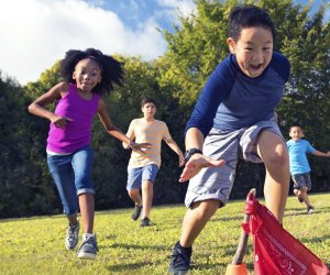 At the Y, summer campers build friendships and engage in physical activity in a safe and healthy environment. Photo courtesy of the YMCA