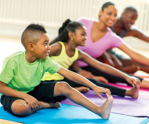 With a variety of classes for all ages, including programs for the whole family, the YMCA is the place for kids!  Photo courtesy of YMCA of Greater NY