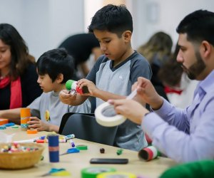 Do a family art project at Zimmerli Art Museum on Sunday, January 5. Photo courtesy of the museum
