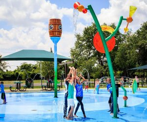Zube Park splash pad