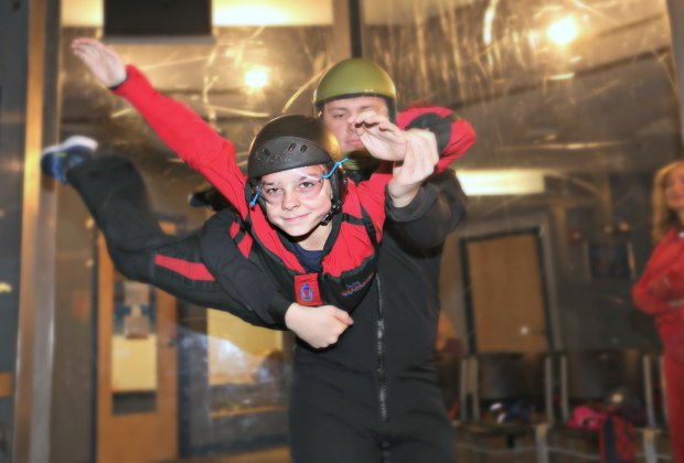 Skydiving and Surfing Under One Roof in Nashua