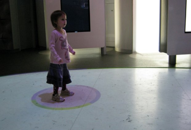 Playing on the Interactive Floor