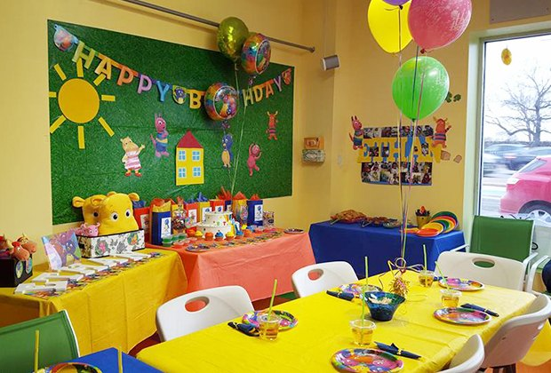 ... birthday party is one. Fear not: There are inexpensive party rooms