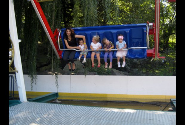 Kids and adults agree this is definitely a Happy Swing